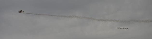 Avion-Banderole