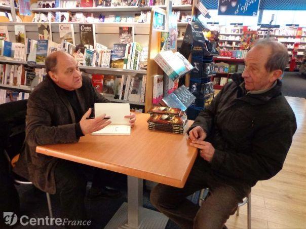 Jean-Louis Riguet a discuté avec ses lecteurs. - Vellard Elise
